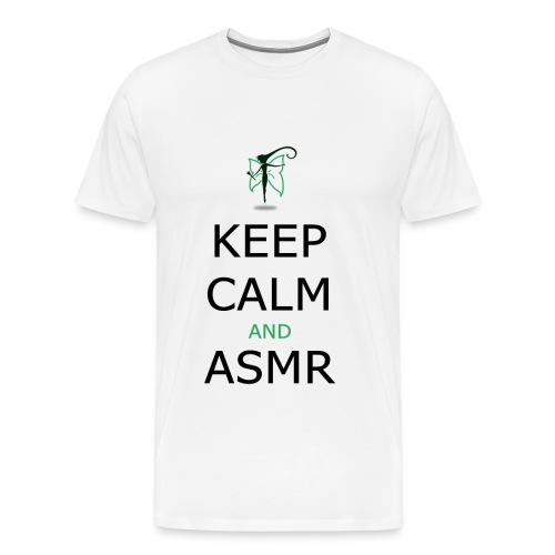 KEEP CALM AND ASMR - Maglietta Premium da uomo
