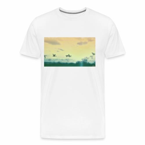 EMTRIIX Birds - Männer Premium T-Shirt