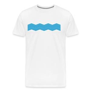 La mer et ses vagues - T-shirt Premium Homme
