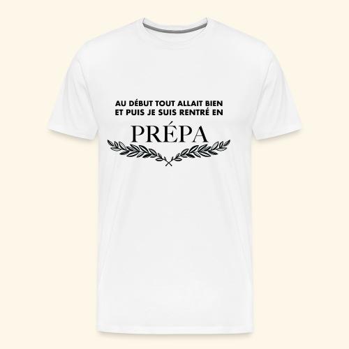 ADTAB X Prépa X Noir X H - T-shirt Premium Homme