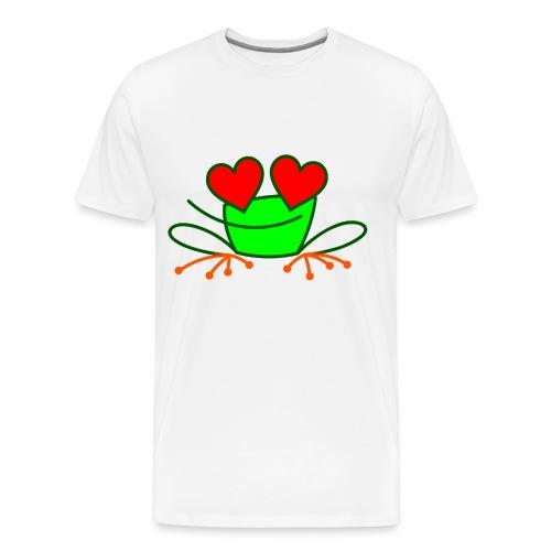 Frog in Love - Men's Premium T-Shirt