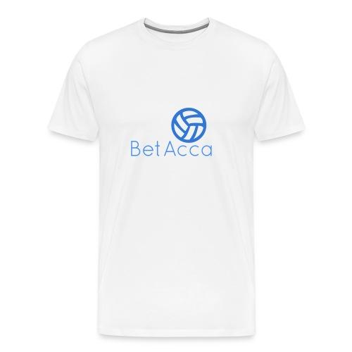 BetAcca Logo - Men's Premium T-Shirt