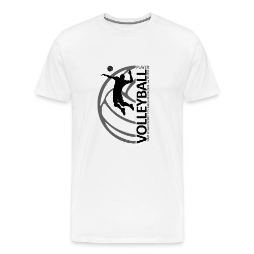 volleyballplayer MAN black - Maglietta Premium da uomo