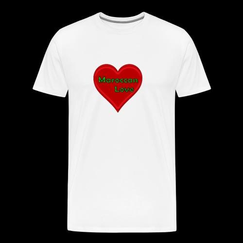 Maroccan_Love Original - Männer Premium T-Shirt