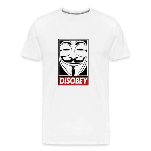 Disobey T-Shirt Classic - Maglietta Premium da uomo