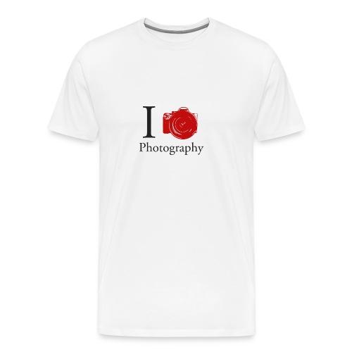 I Love Photography Collection - Männer Premium T-Shirt