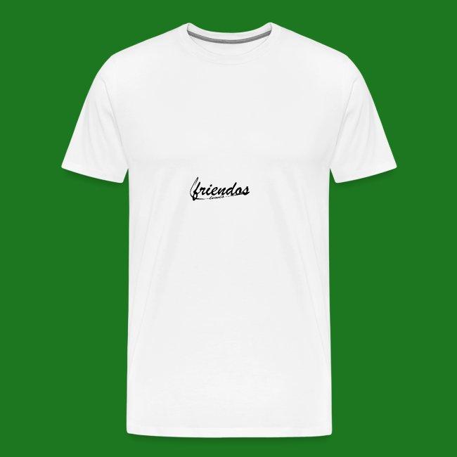 Mannen baseball t-shirt Friendos