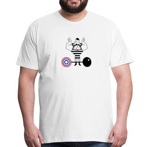 uomo_forzuto3-0 - Maglietta Premium da uomo