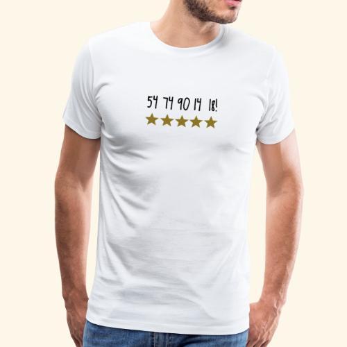 54 74 90 14 18 Deutschland - Männer Premium T-Shirt