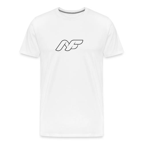 B2Run T Shirt Logo 1 Flo - Männer Premium T-Shirt