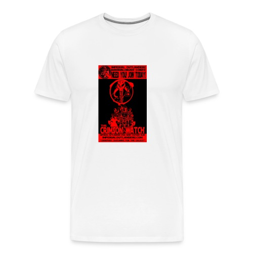 Crimson recruit tee - Men's Premium T-Shirt