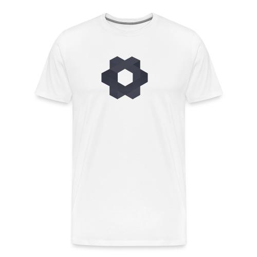 Minoko Weiß - Männer Premium T-Shirt