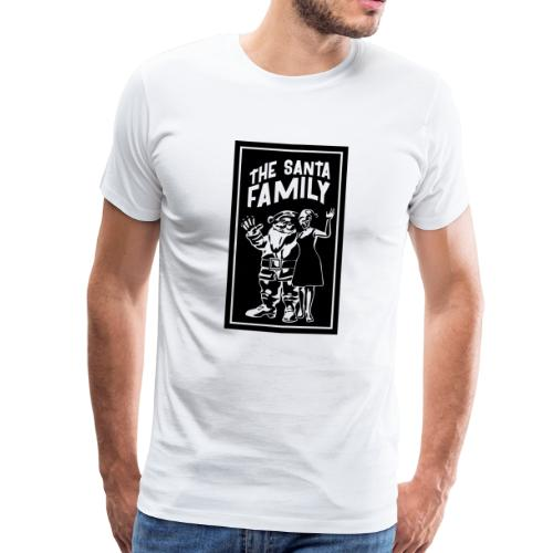 The Santa Family - Merry Christmas T-Shirts - Männer Premium T-Shirt
