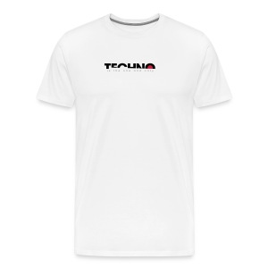 Techno is the one and only - Männer Premium T-Shirt