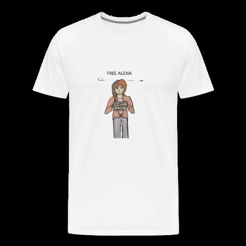 Free Alexia Design - Men's Premium T-Shirt