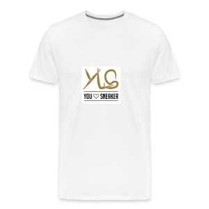 you love sneaker - Männer Premium T-Shirt