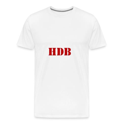 HDB t-shirt - Mannen Premium T-shirt
