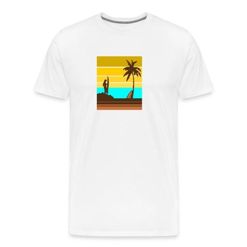 Surfer Girl - Männer Premium T-Shirt