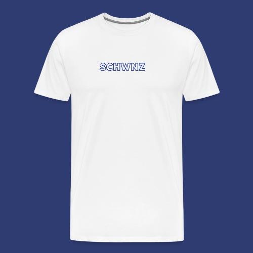 SCHWNZ - Mannen Premium T-shirt