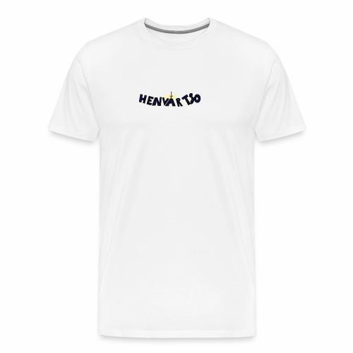 Henvartso - Premium T-skjorte for menn