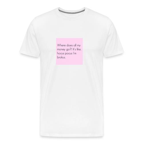 Vrouwen shirt - Mannen Premium T-shirt