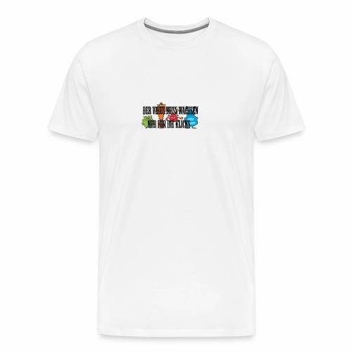 Der virus muss wachsen - Männer Premium T-Shirt