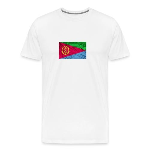 Eritrea Flag - Männer Premium T-Shirt