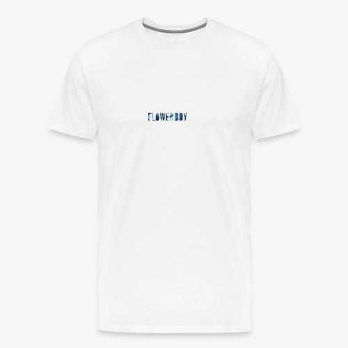 Flowerboy - Männer Premium T-Shirt