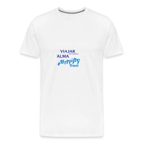 VIAJAR ENRIQUECE EL ALMA - Camiseta premium hombre