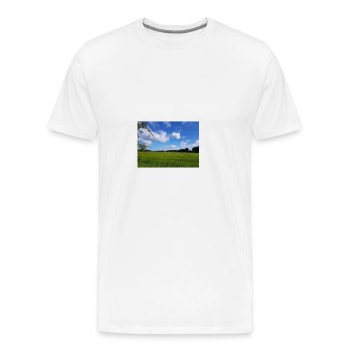 Feld in Schleswig Holstein - Männer Premium T-Shirt