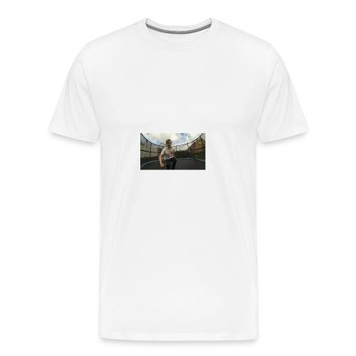 Trampoline - Premium T-skjorte for menn