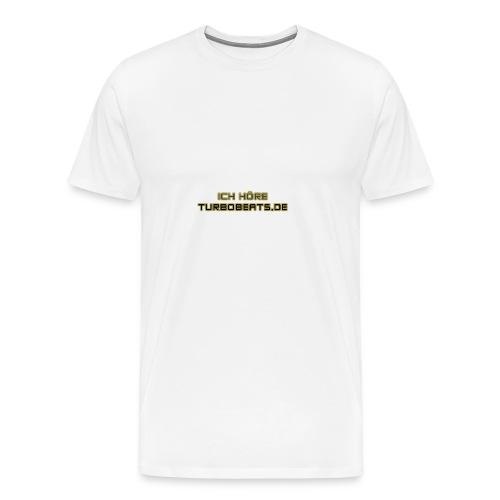 Ich höre TB - Männer Premium T-Shirt