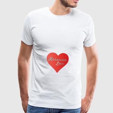 Maroccan_Love_LifeStyle Logo - Maglietta Premium da uomo