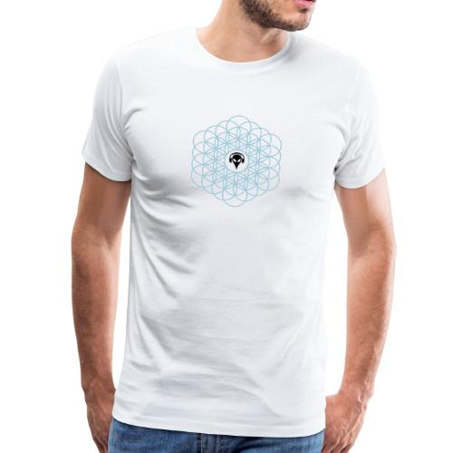 Blume des Lebens Ornament - Männer Premium T-Shirt