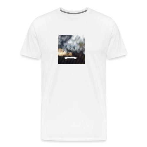 lifetech logo - Männer Premium T-Shirt