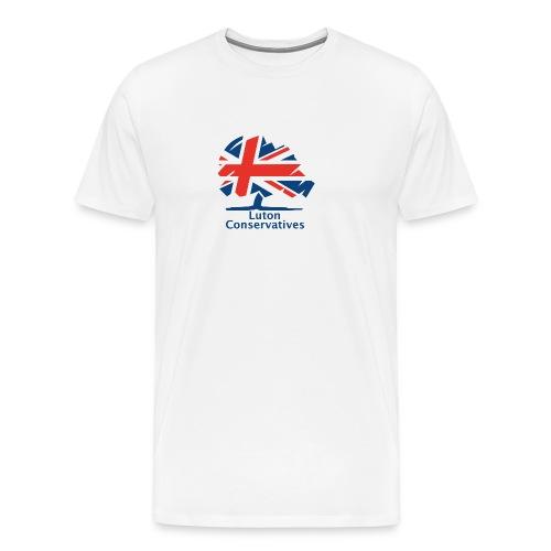 Luton Conservatives Badge - Men's Premium T-Shirt