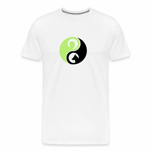 animaltraining logo - Mannen Premium T-shirt