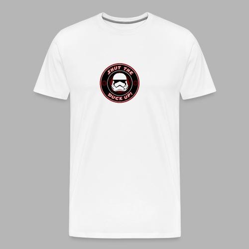 Shut the duck up! - Design - Männer Premium T-Shirt