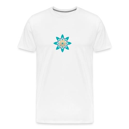 Flower of Love - Mannen Premium T-shirt