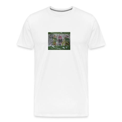 tritt den muelleimer um - Männer Premium T-Shirt