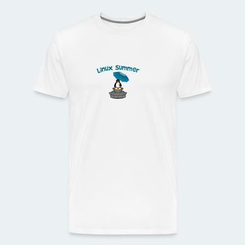 linux summer - Maglietta Premium da uomo