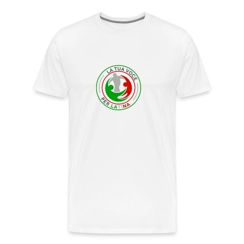 LA_TUA_VOCE_PER_LATINA_01-png - Maglietta Premium da uomo