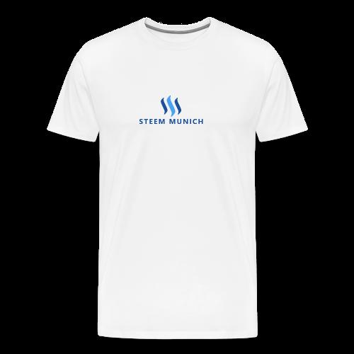 STEEM MUNICH PNG - Männer Premium T-Shirt