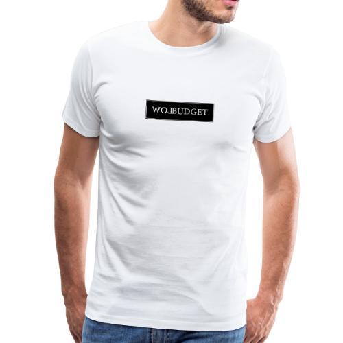 LB Box Logo Design - Männer Premium T-Shirt