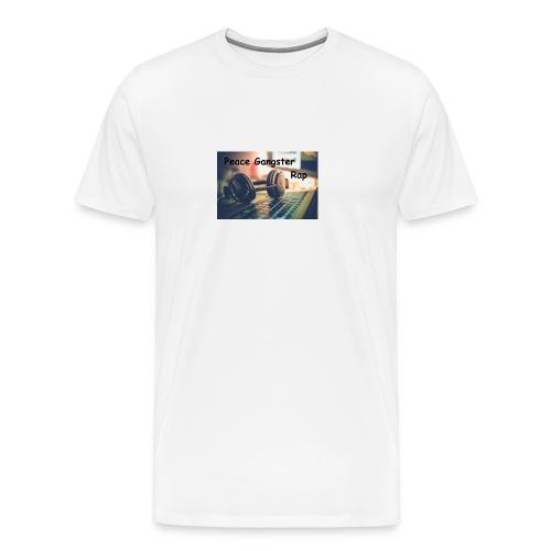 Peace Gangster Rap - Männer Premium T-Shirt