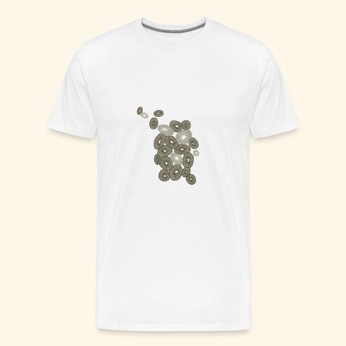 Kreize - Männer Premium T-Shirt