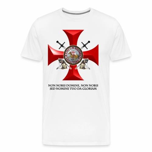 TEMPLARIOS. - Camiseta premium hombre