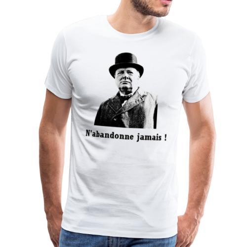 Winston Churchill - T-shirt Premium Homme