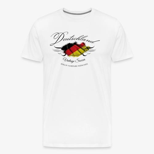 Vintage Deutschland - Männer Premium T-Shirt