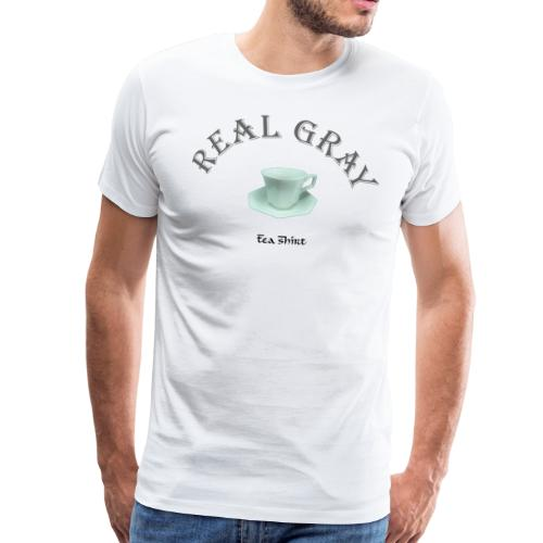 Real Gray Tea-Shirt - Men's Premium T-Shirt